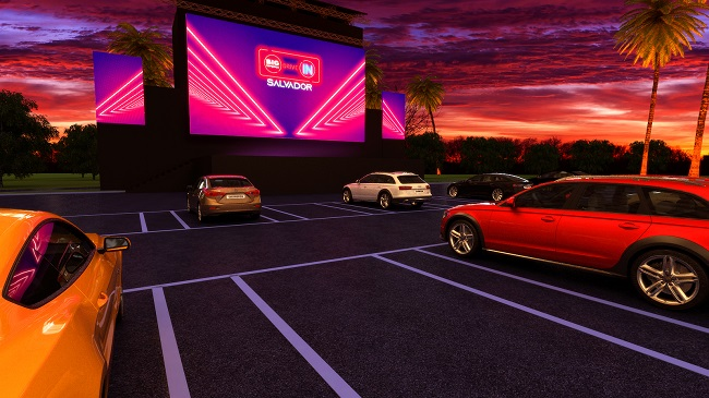 """Big Bompreço Drive-In Salvador será aberto dia 29 com filme """"Axé"""""""