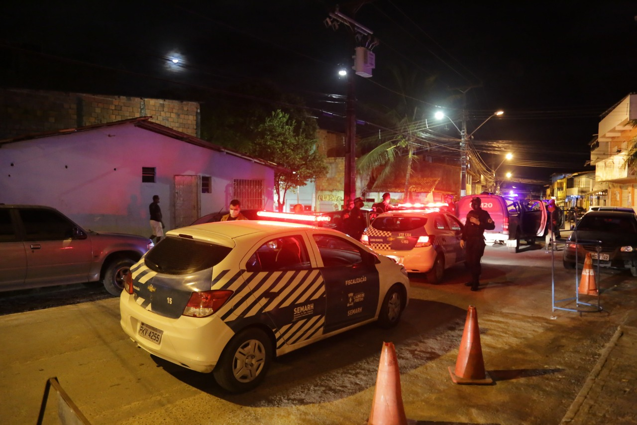 Lauro de Freitas restringe circulação noturna até o dia 12