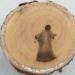 """Operários encontram """"imagem de Jesus Cristo"""" em tronco de árvore no MS"""