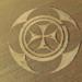 Símbolo gigante aparece em campo de trigo na França