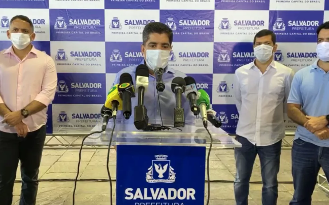 Salvador mantém suspensão de aulas e interdição de praias