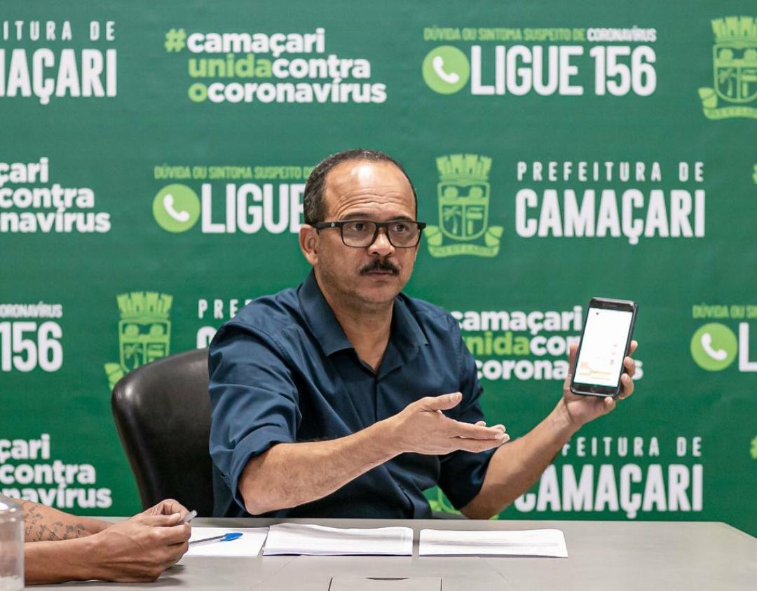 Elinaldo convida Orbi Química para se instalar em Camaçari