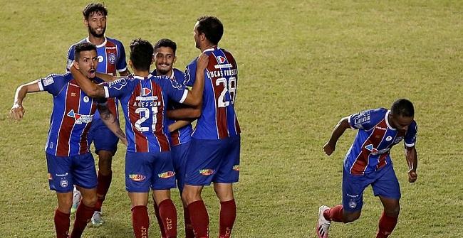 Bahia vence o Confiança por 1 a 0 e está na final do Nordestão; veja o gol