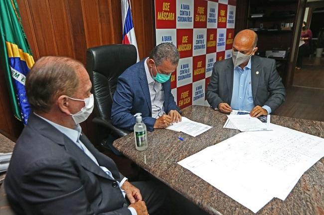 Governador autoriza ampliação do hospital municipal de Santa Maria da Vitória
