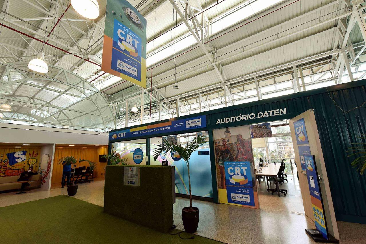 Centro de Recuperação do Turismo começa a funcionar nesta quarta no Hub Salvador