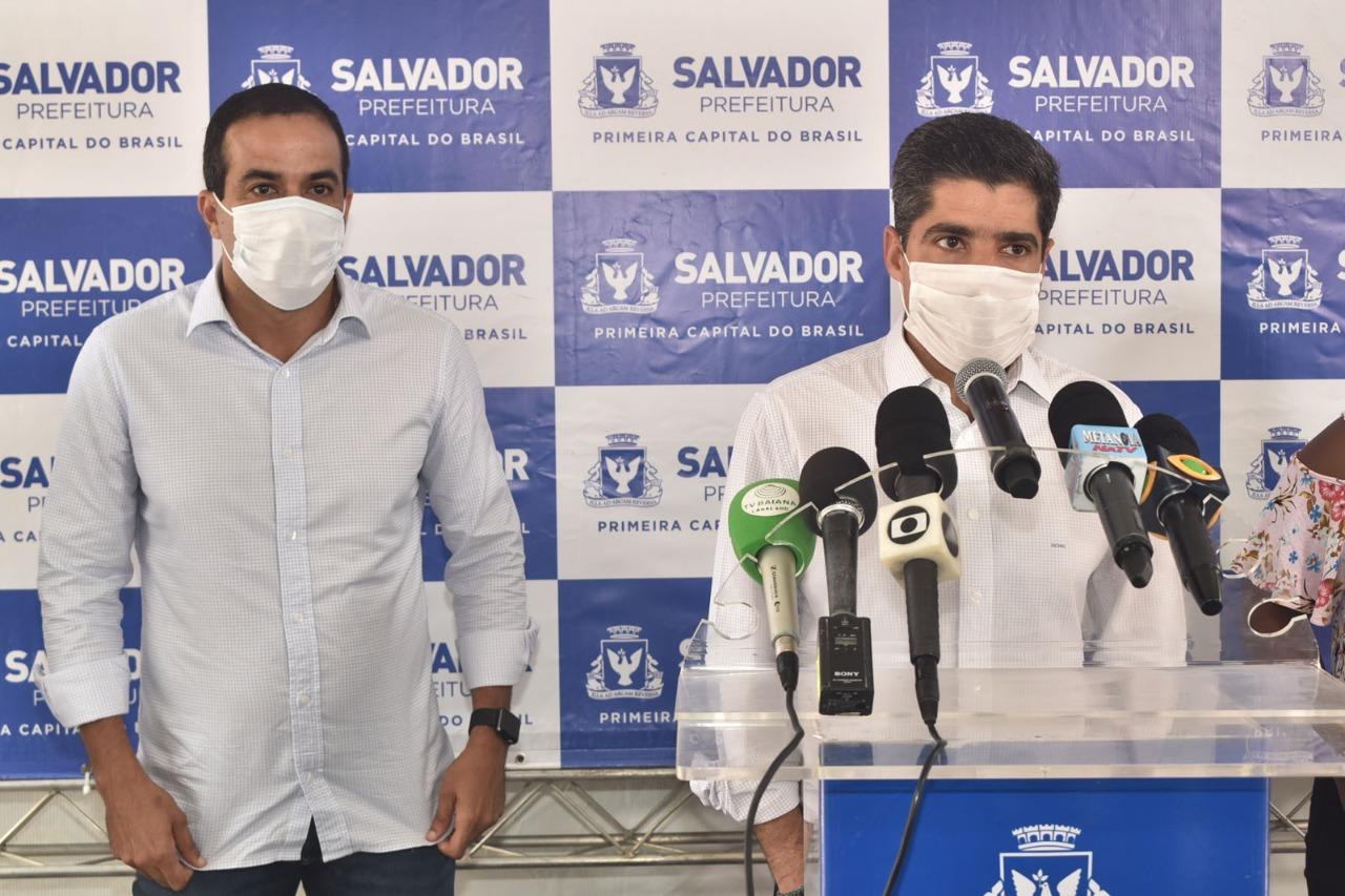 Quatro bairros de Salvador terão medidas restritivas por mais uma semana