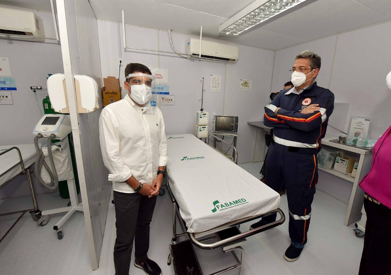 Pau Miúdo recebe sexto gripário para enfrentamento à covid-19 em Salvador