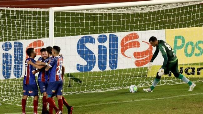 Bahia vence o Coritiba na estreia da Série A por 1 a 0; veja o gol