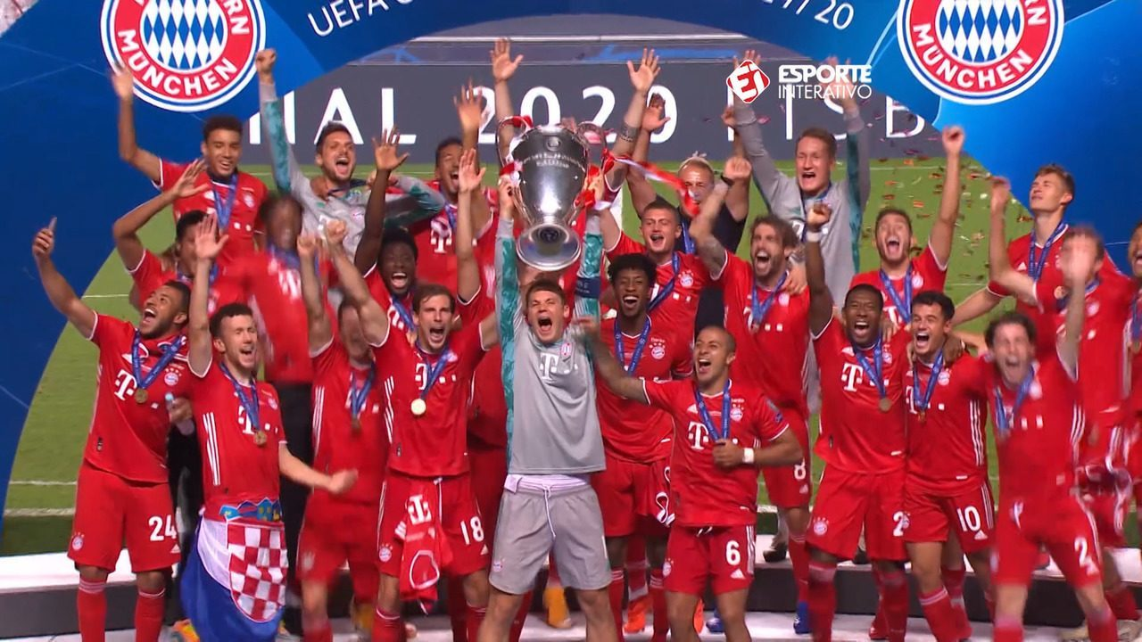 Bayern vence o PSG por 1 a 0 e conquista a Champions