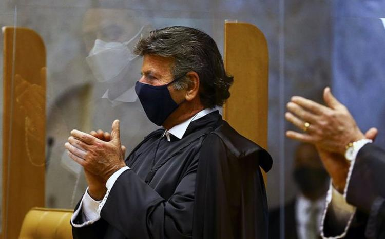 Presidente do STF, Luiz Fux testa positivo para covid-19