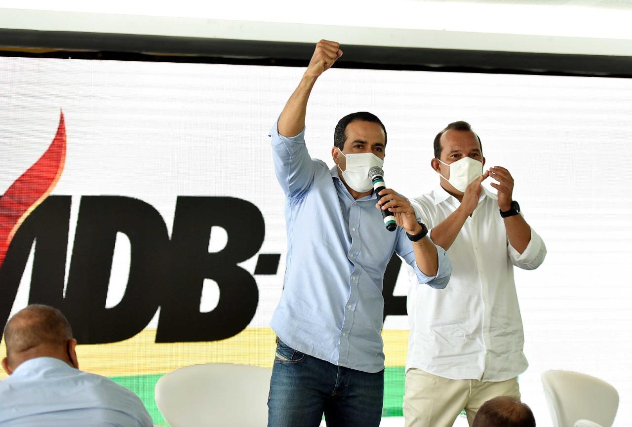 Convenção do MDB define apoio a Bruno Reis em Salvador