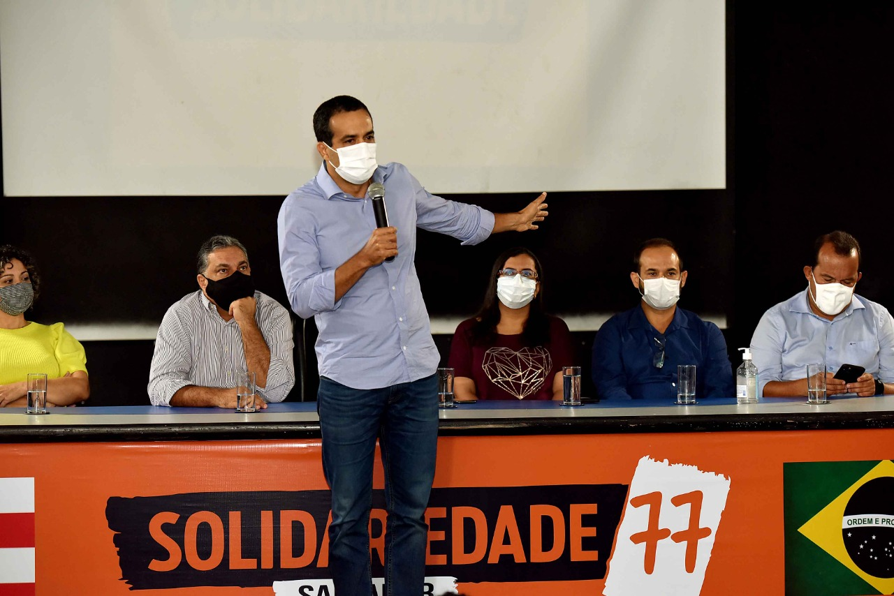 Presidente do Solidariedade em Salvador reafirma apoio a Bruno Reis