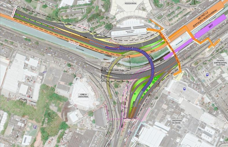 Prefeitura vai iniciar construção de viaduto na região do Shopping da Bahia