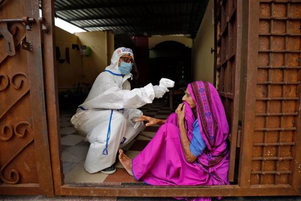 Com 13,5 milhões de casos, Índia é o 2o país com mais infectados por Covid-19