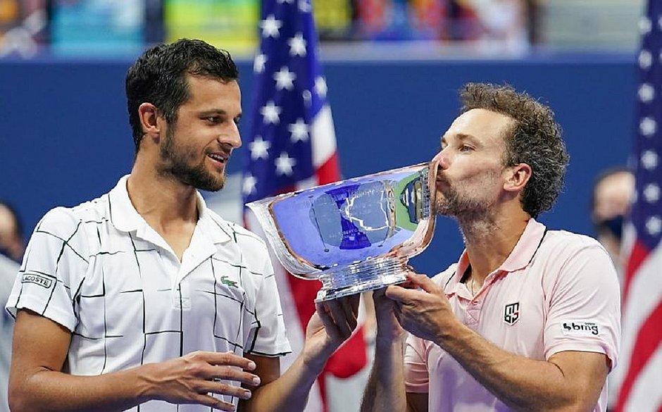 Brasileiro Bruno Soares é bicampeão por duplas no US Open Tennis