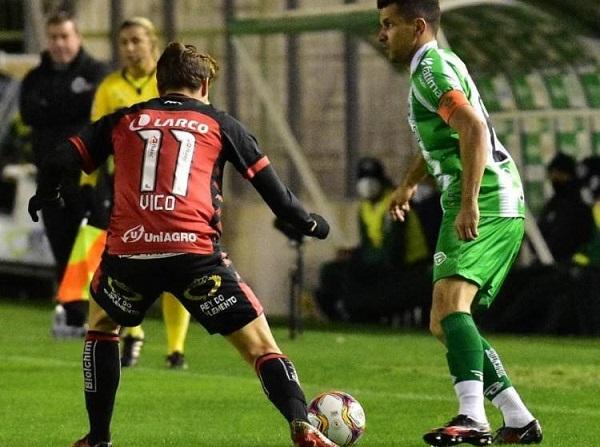 Fora de casa, Vitória empata em 1 a 1 com o Juventude; veja os gols