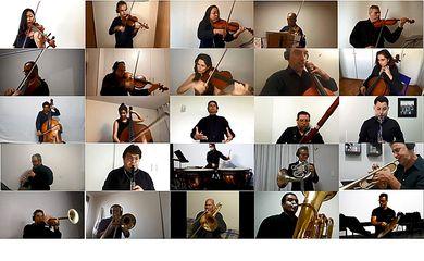 Sinfônica de Brasília celebra aniversário do Hino Nacional com vídeo; assista