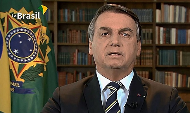 Bolsonaro discursa na Cúpula da Biodiversidade da ONU