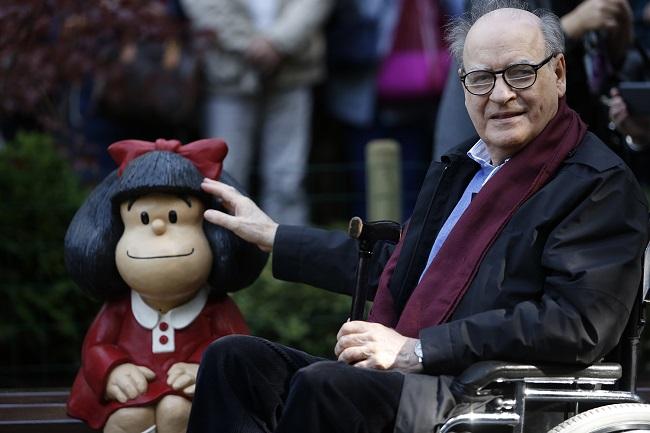 Criador de Mafalda, cartunista Quino morre aos 88 anos