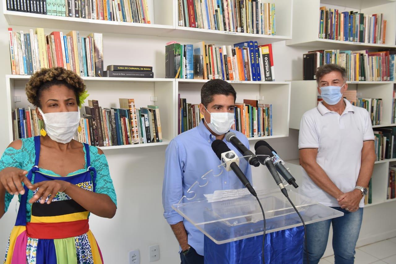 Liberdade ganha biblioteca renovada e com protocolos de segurança