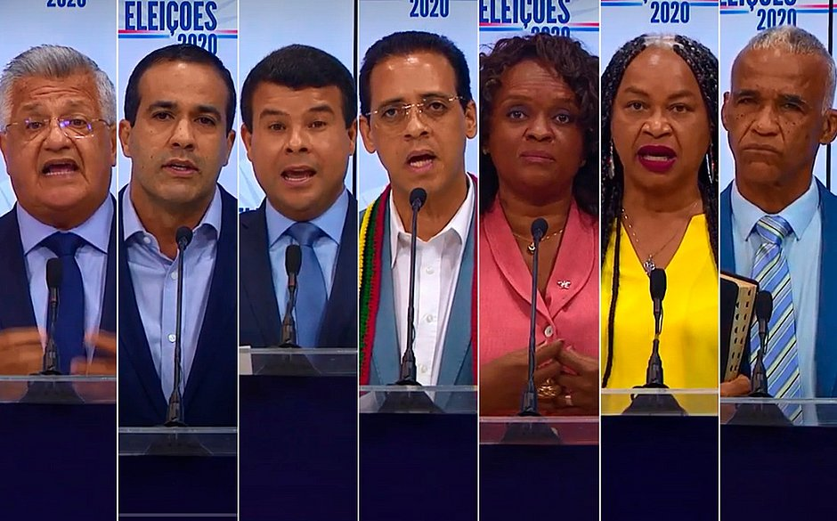Candidatos à prefeitura de Salvador focam no desemprego em debate na TVE