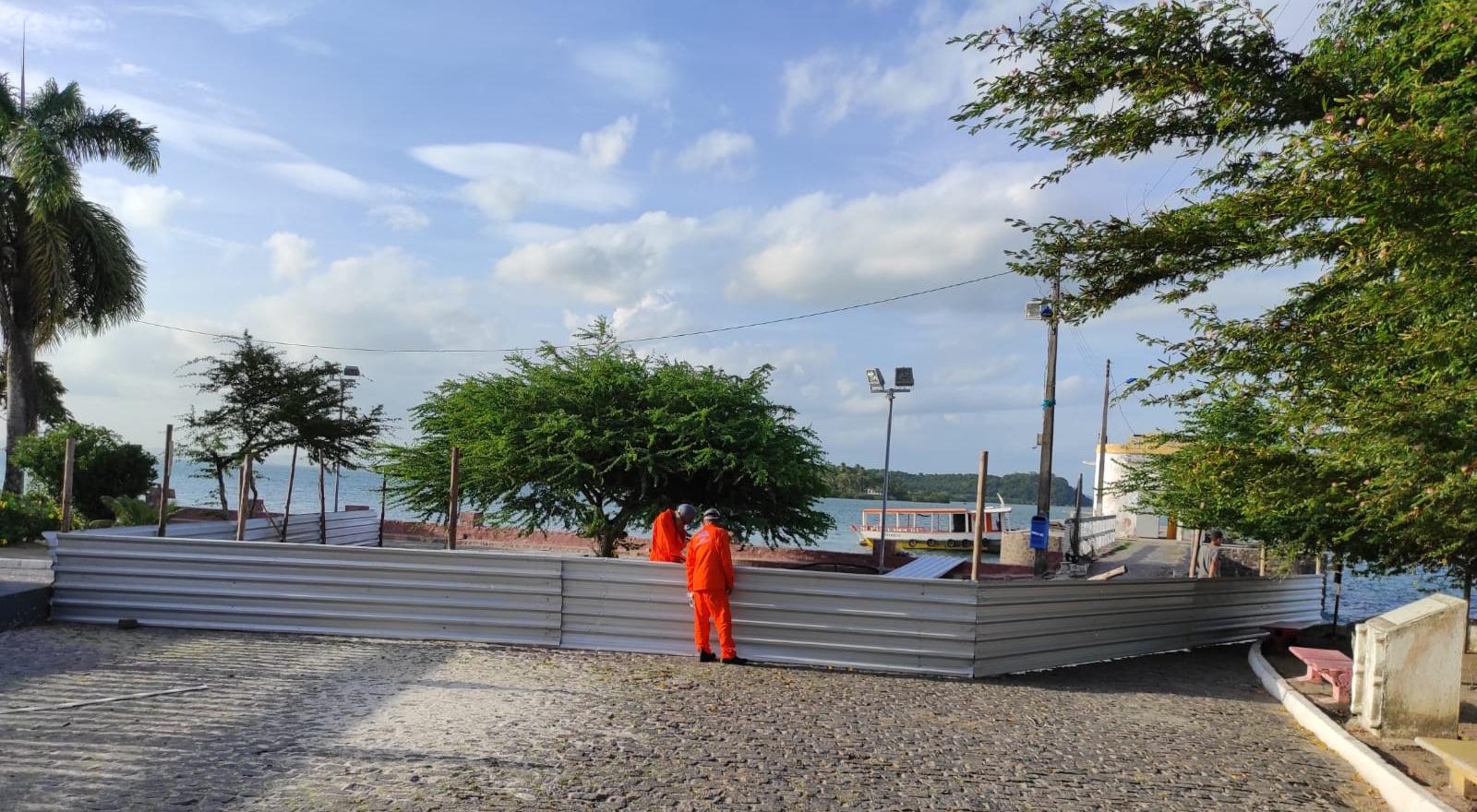 Prodetur inicia reconstrução de terminal turístico em Bom Jesus dos Passos