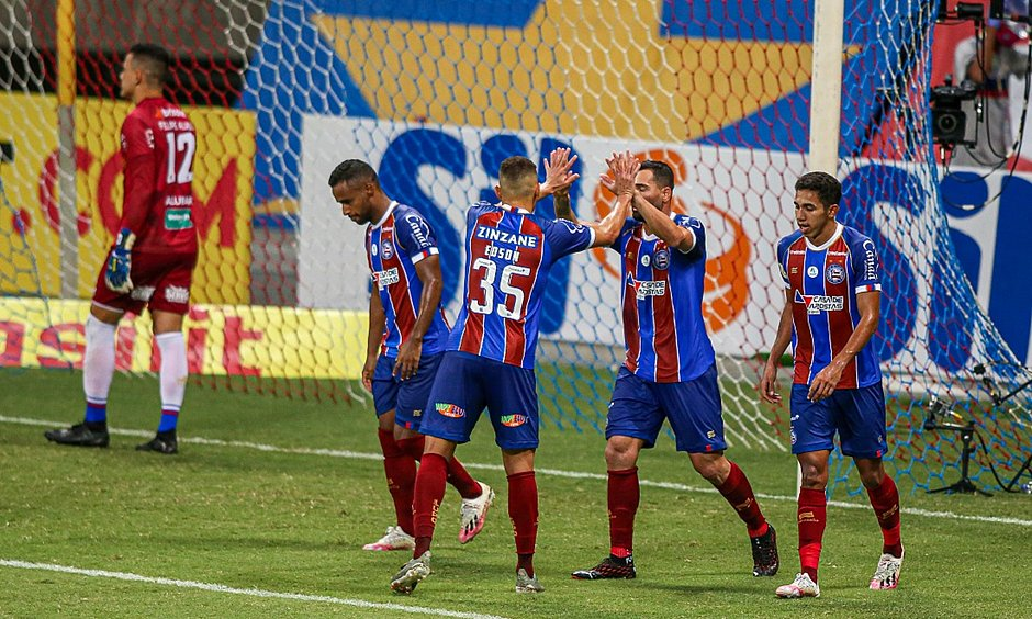 Bahia bate o Fortaleza por 2 a 1 na Fonte Nova; veja os gols