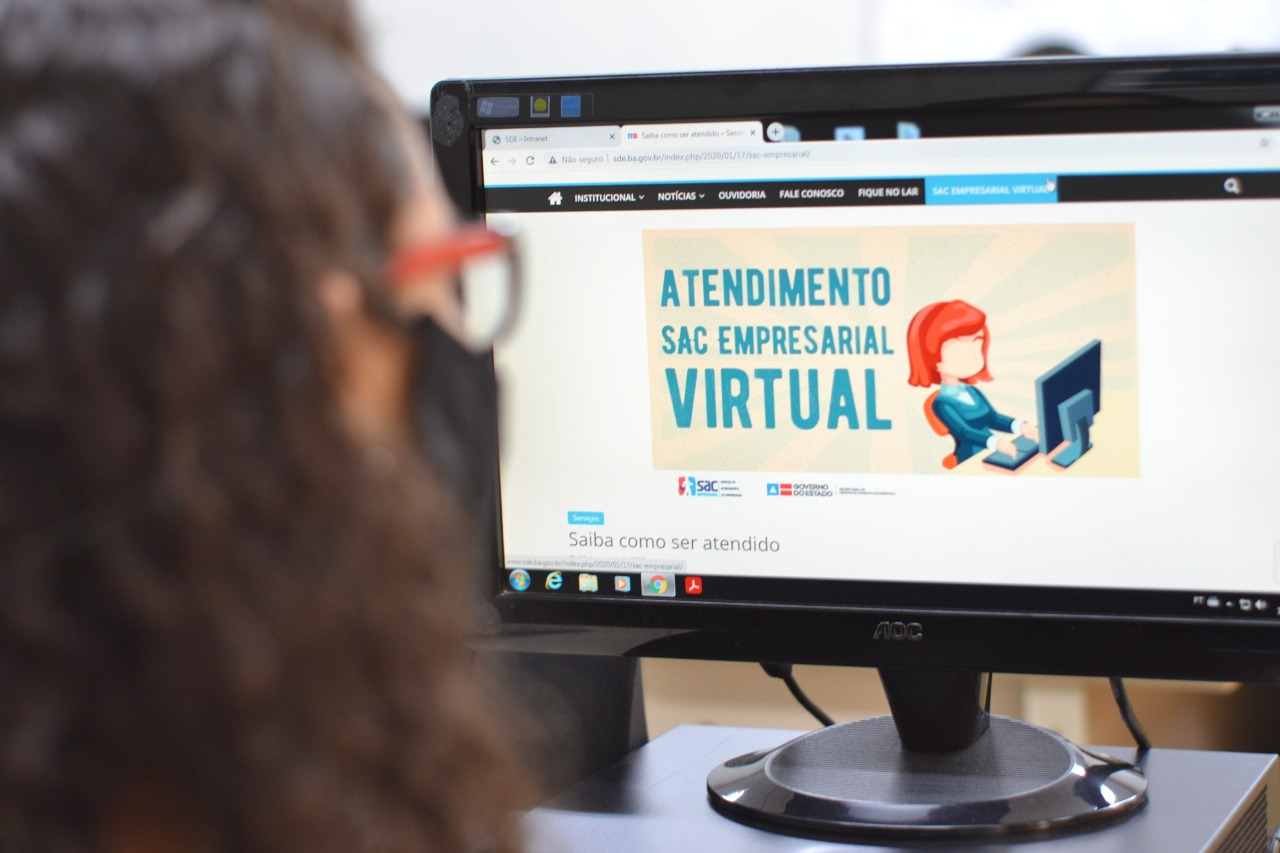 SAC Empresarial retoma atendimentos de forma virtual