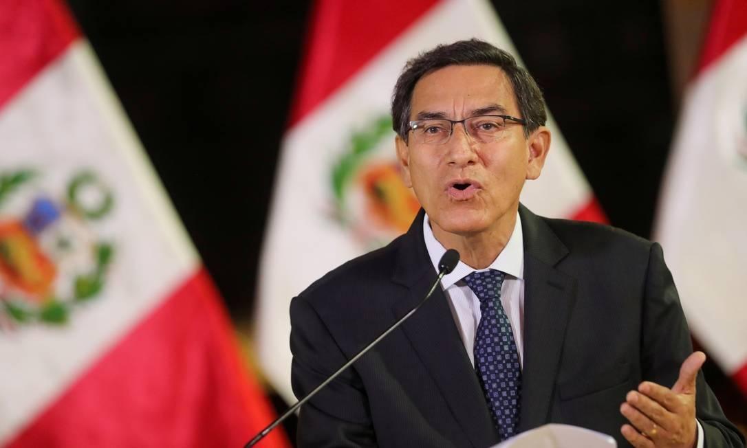 Congresso do Peru aprova impeachment do presidente Martín Vizcarra
