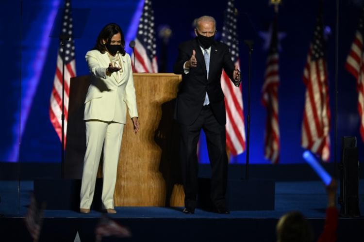 """""""É hora de cicatrizar a América"""", diz Biden em discurso"""