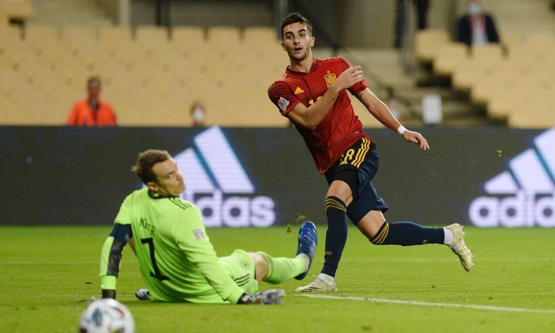 Espanha aplica 6 a 0 na Alemanha pela Liga das Nações; veja os gols