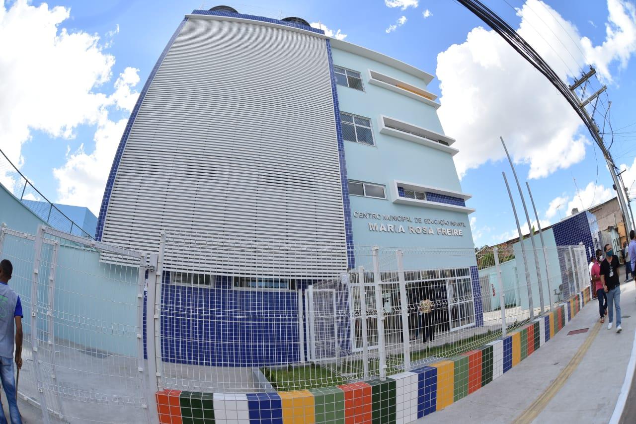 Palestina ganha novo Centro de Educação Infantil reconstruído pela Prefeitura