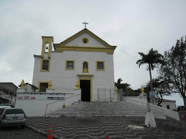 Igreja São Lázaro e São Roque terá missas na última segunda-feira do ano