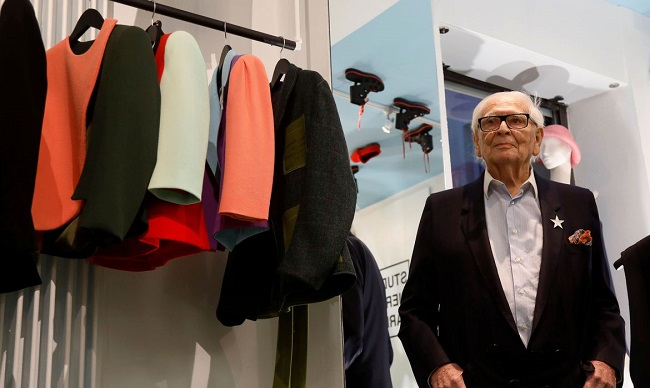 Estilista francês Pierre Cardin morre aos 98 anos