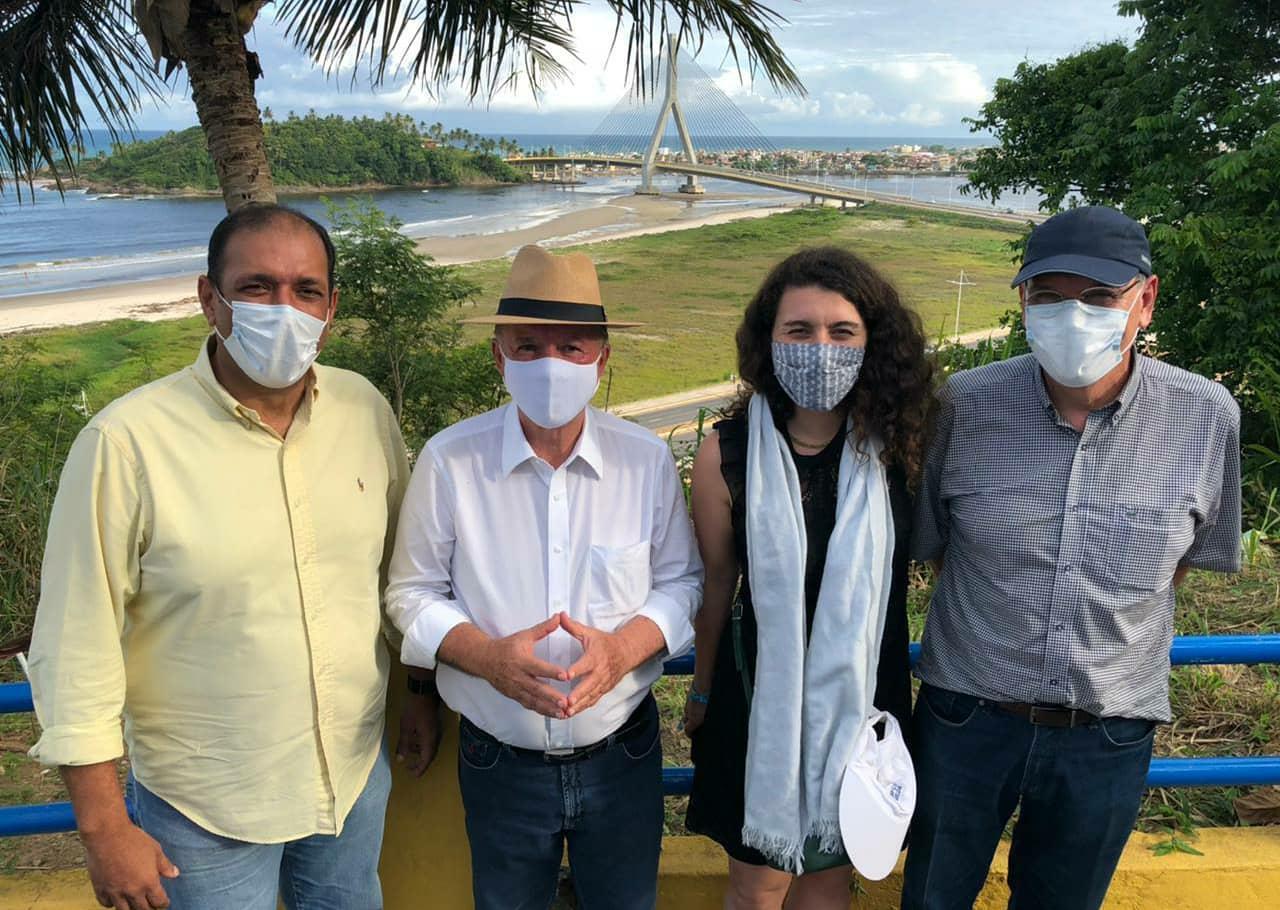Grupo francês conhece potenciais para investimentos do Sul da Bahia