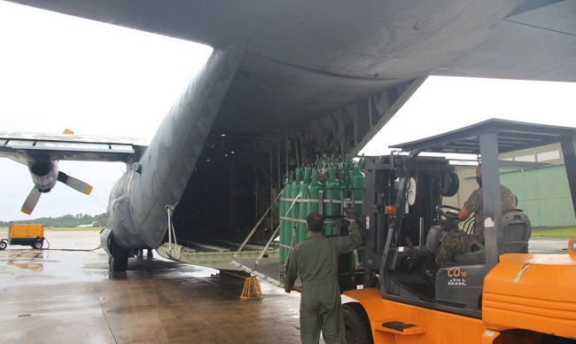 Brasil volta a zerar imposto de importação para cilindros e sensores de oxigênio