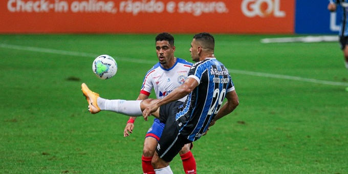 Série A: Bahia perde para o Grêmio por 2 a 1; veja os gols