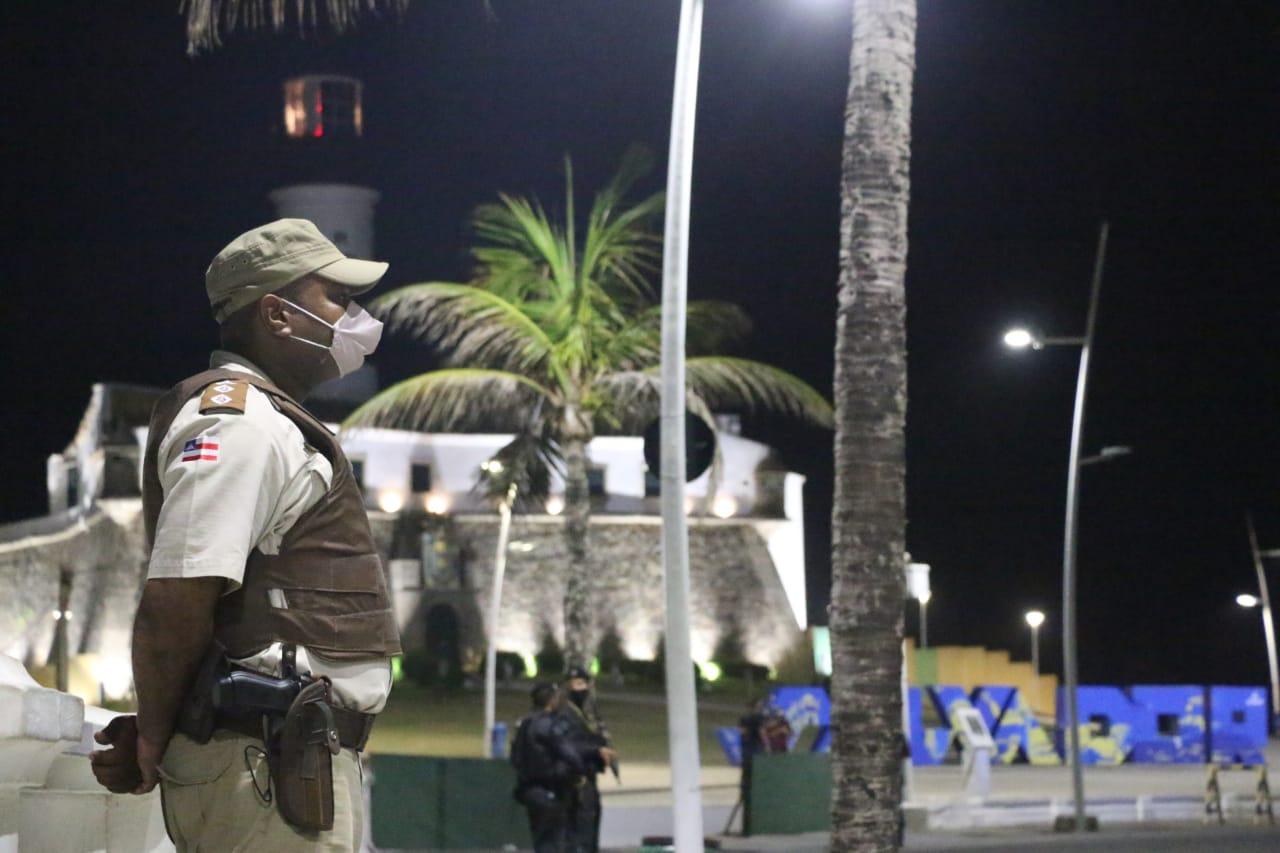 Fim de semana com toque de recolher tem 55 detidos na Bahia