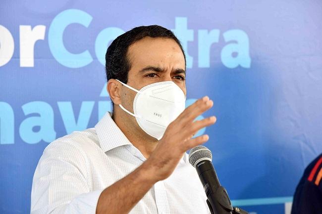 Bruno Reis anuncia vacinação de jornalistas com 40 anos ou mais a partir de sexta