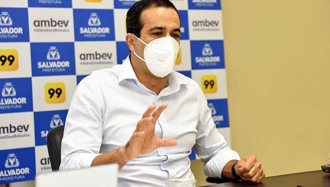 Bruno Reis firma parcerias com o setor privado para combater a pandemia