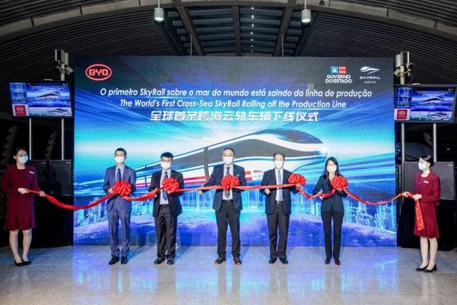 China apresenta trem do VLT do Subúrbio de Salvador por videoconferência