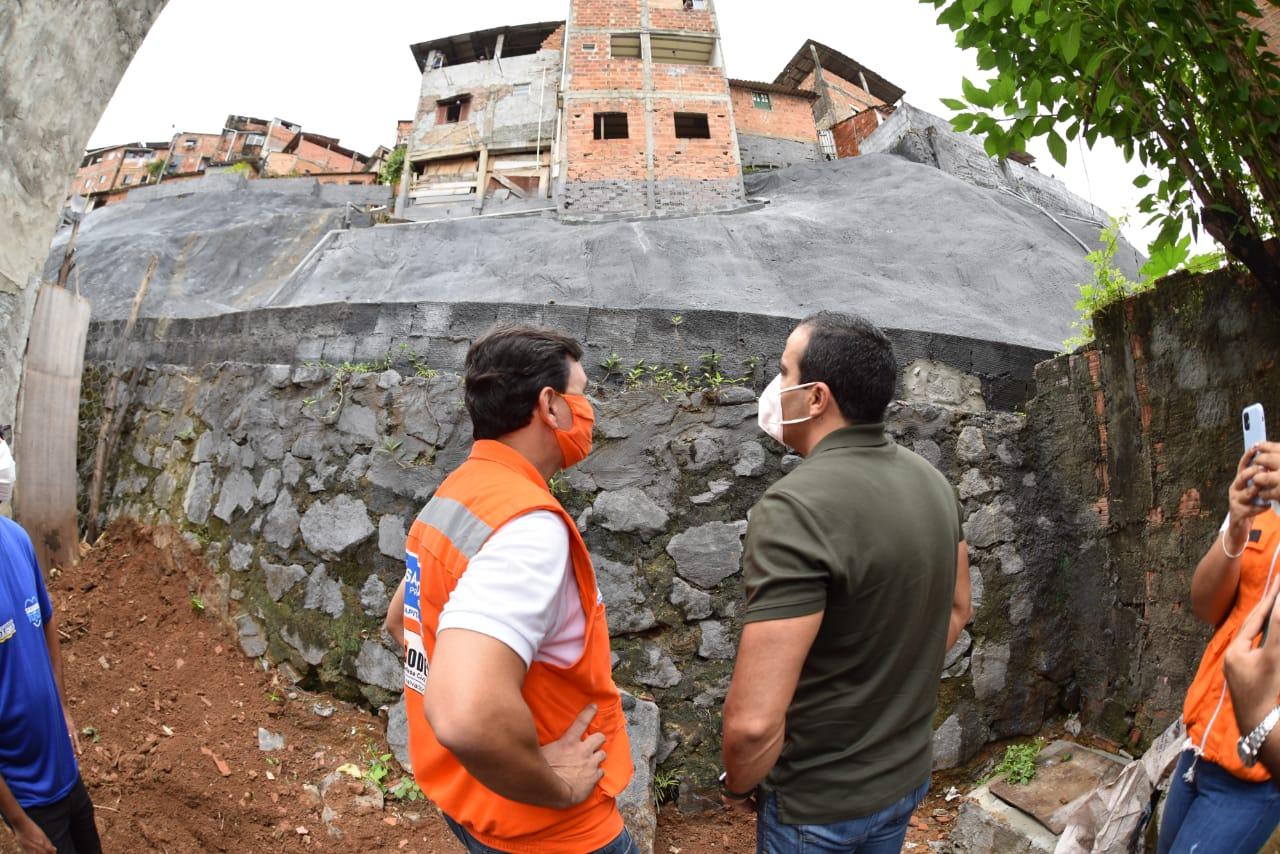 Geomanta garante segurança à comunidade no bairro do Lobato