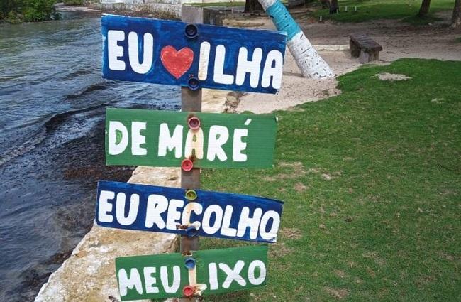 Prefeitura instala placas sobre preservação ambiental nas ilhas de Salvador