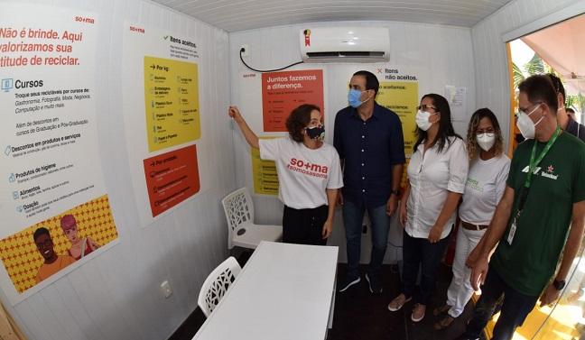 Parceria permite novas unidades de coleta de recicláveis em Salvador