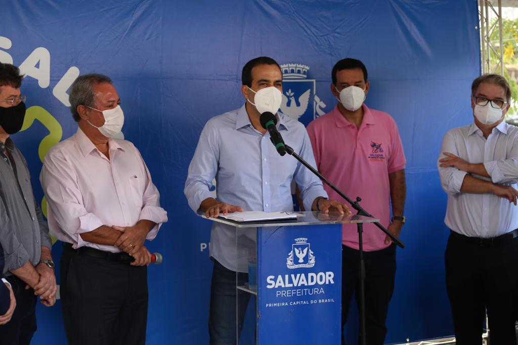 Bruno Reis anuncia novas ações contra a covid-19 no Dia Nacional da Imunização