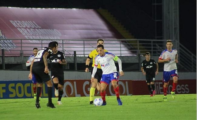 Série A: Bahia empata com o Bragantino em 3 a 3; veja os gols