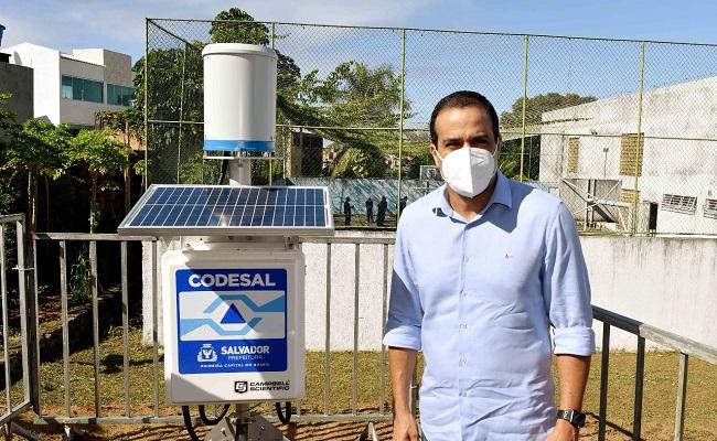 Salvador ganha estações geotécnicas para monitoramento de áreas de risco