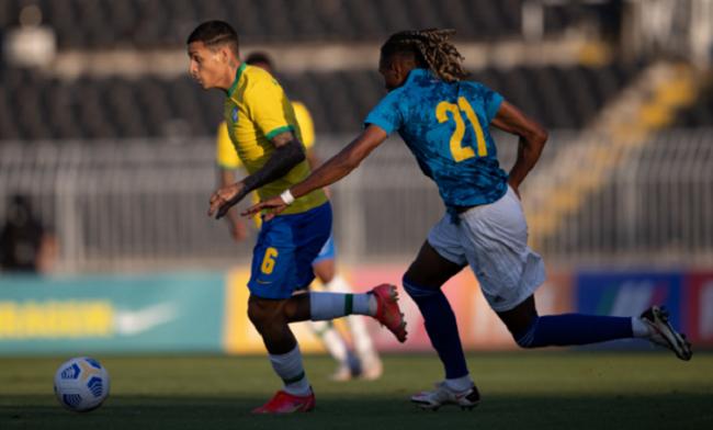 Seleção Olímpica do Brasil perde amistoso para Cabo Verde