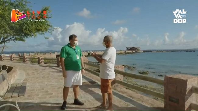 Live Tour Salvador apresenta peculiaridades e belezas da Ilha dos Frades