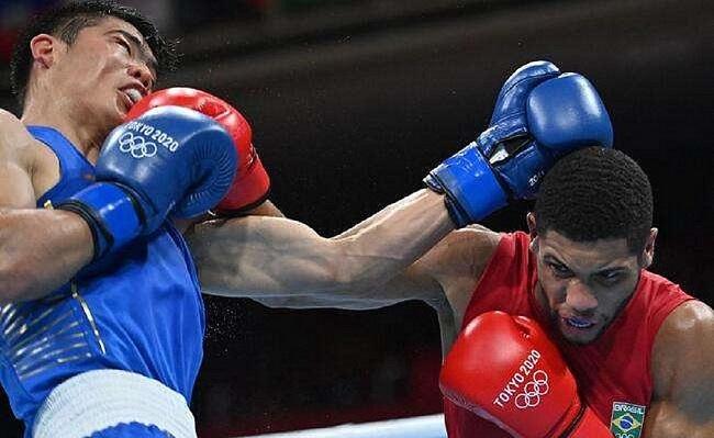 Tóquio: Hebert Conceição avança às quartas de final no boxe